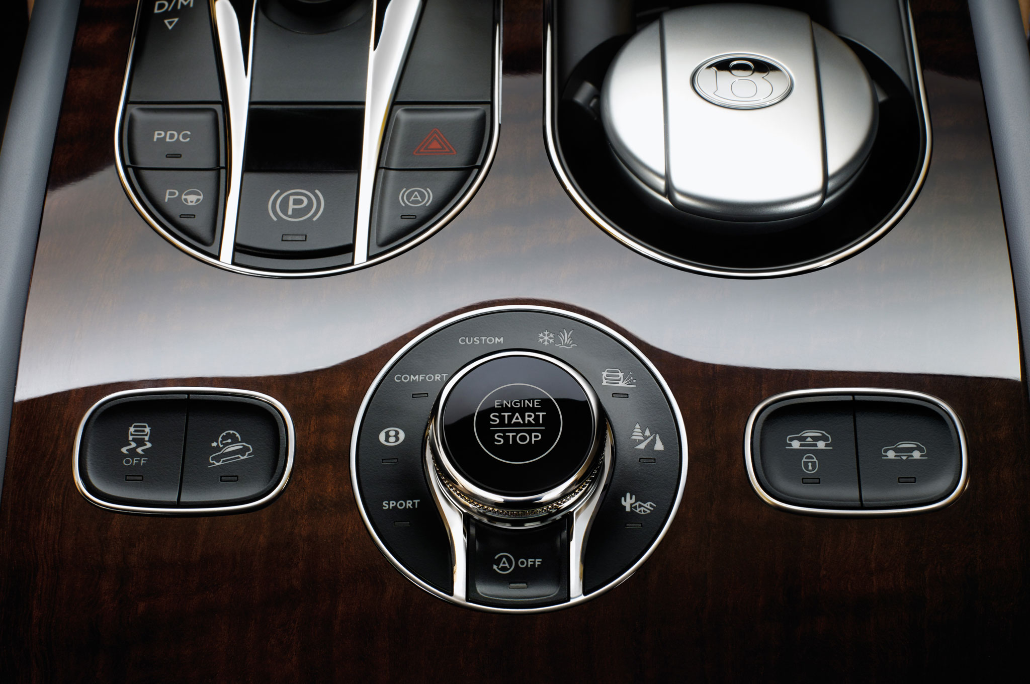 2017 Bentley Bentayga Start-Stop Engine