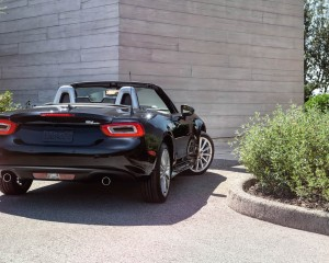 2017 Fiat 124 Spider Convertible Rear Exterior