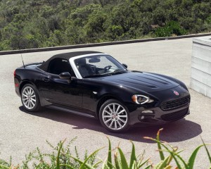 2017 Fiat 124 Spider Convertible Roof Up