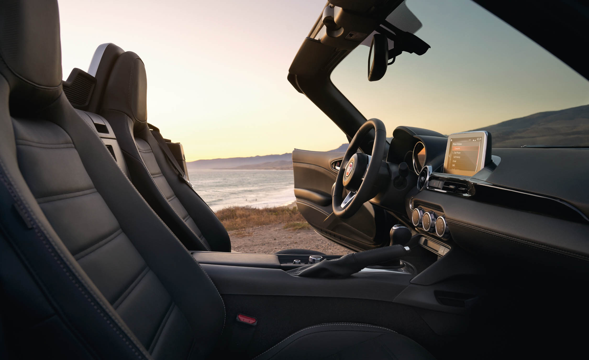 2017 Fiat 124 Spider Interior Seats