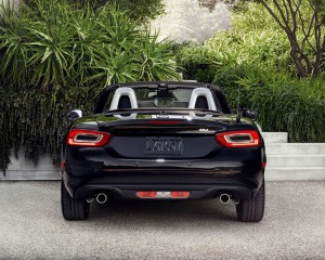2017 Fiat 124 Spider Rear Design