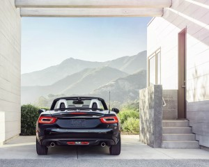2017 Fiat 124 Spider Rear End Design