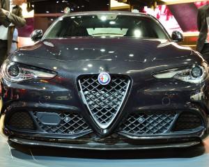Alfa Romeo Giulia Quadrifoglio 2017 Front End Exterior