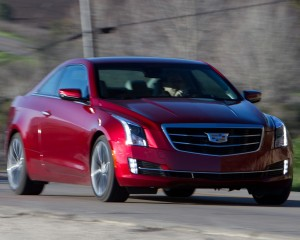 Cadillac ATS Coupe 3.6 2015 Test Drive