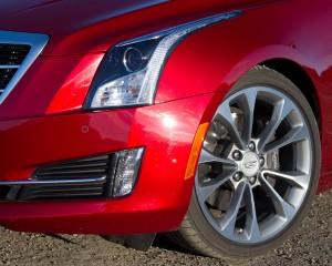 Cadillac ATS Coupe 3.6 Headlamp and Wheel