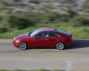 Cadillac ATS Coupe 3.6 Side Preview