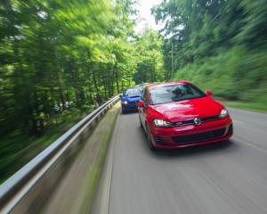 Comparison 2015 Volkswagen GTI vs 2015 Subaru WRX