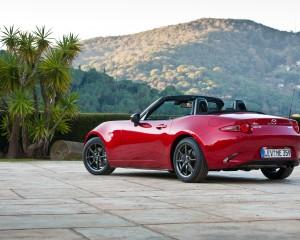 Exterior Overview 2016 Mazda MX-5 Miata