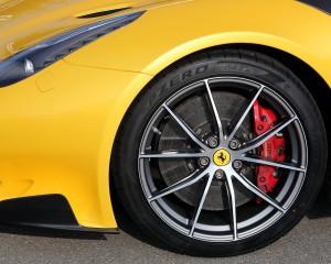 Ferrari F12tdf 2016 Front Wheel