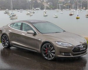First Look Tesla Model S P85D 2015