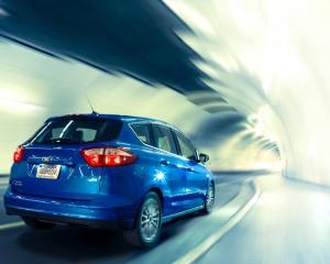 Ford C-Max Energi Rear Side