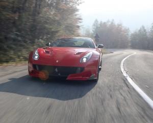 Front View Ferrari F12tdf 2016