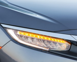 Headlamp Honda Civic Touring Sedan 2016