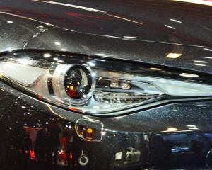 Headlamp of 2017 Alfa Romeo Giulia Quadrifoglio