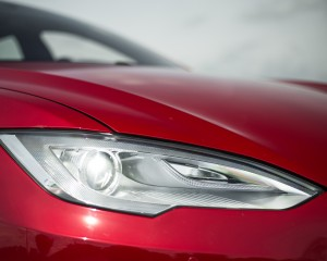 Headlight Tesla Model S P85D 2015