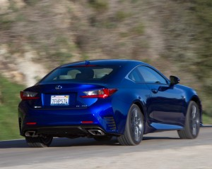 Lexus RC350 F Sport Rear Design
