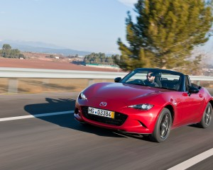New 2016 Mazda MX-5 Miata Red