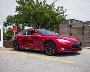 New Tesla Model S P85D 2015