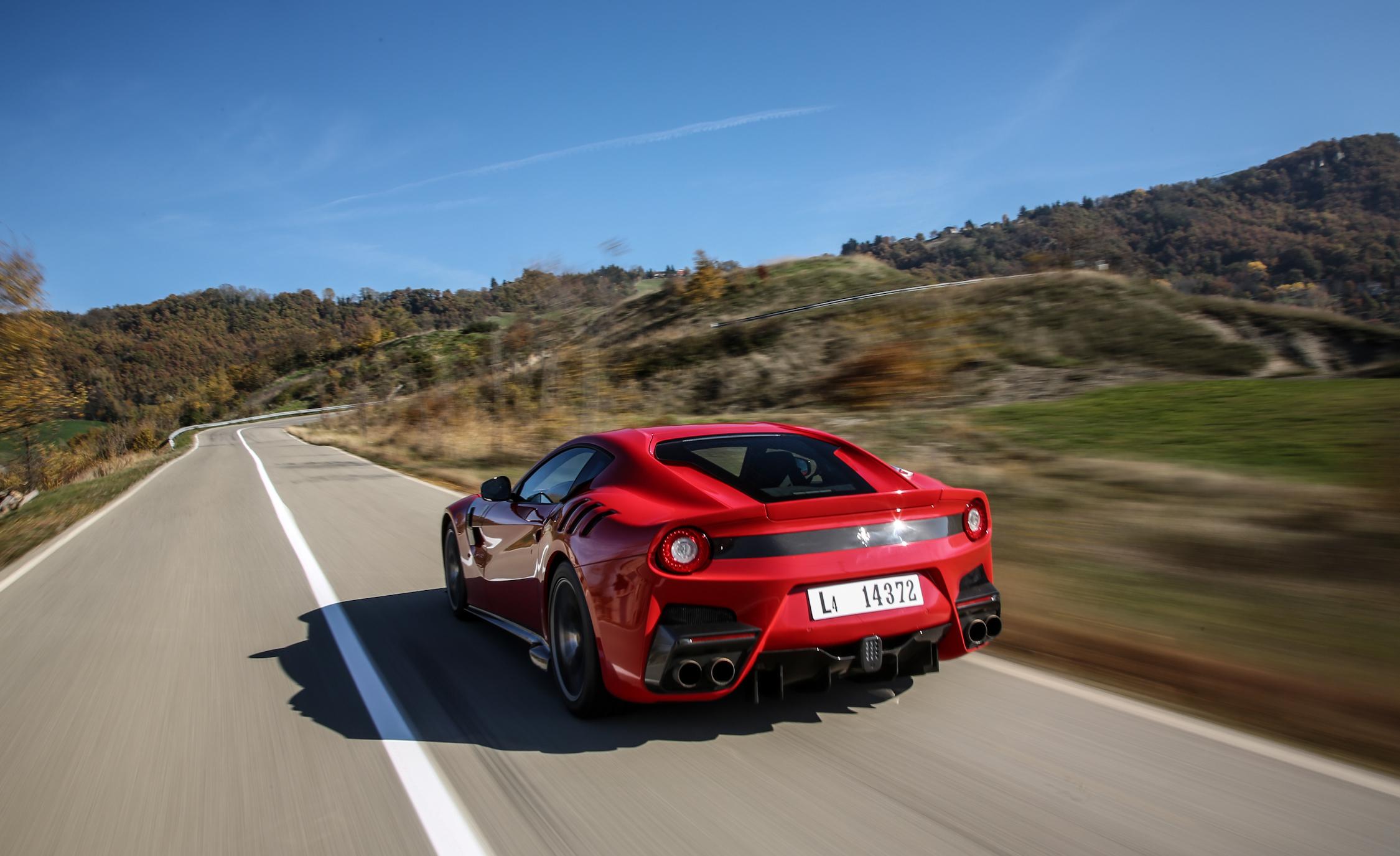 Rear Body Ferrari F12tdf 2016