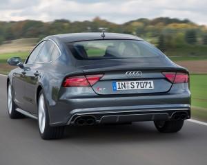 Rear View Audi S7 Sedan 2016