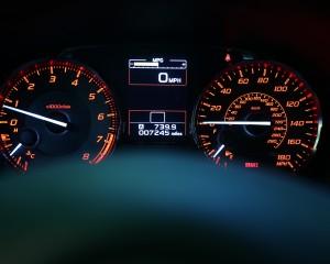 Speedometer 2015 Subaru WRX