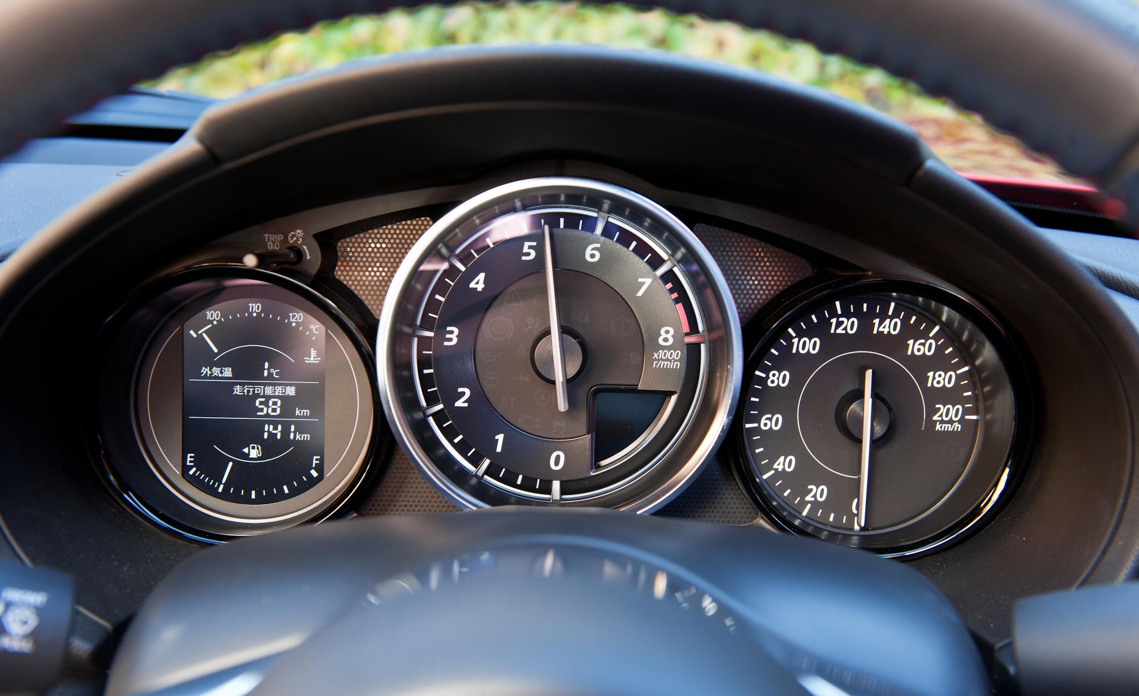 Speedometer 2016 Mazda MX-5 Miata