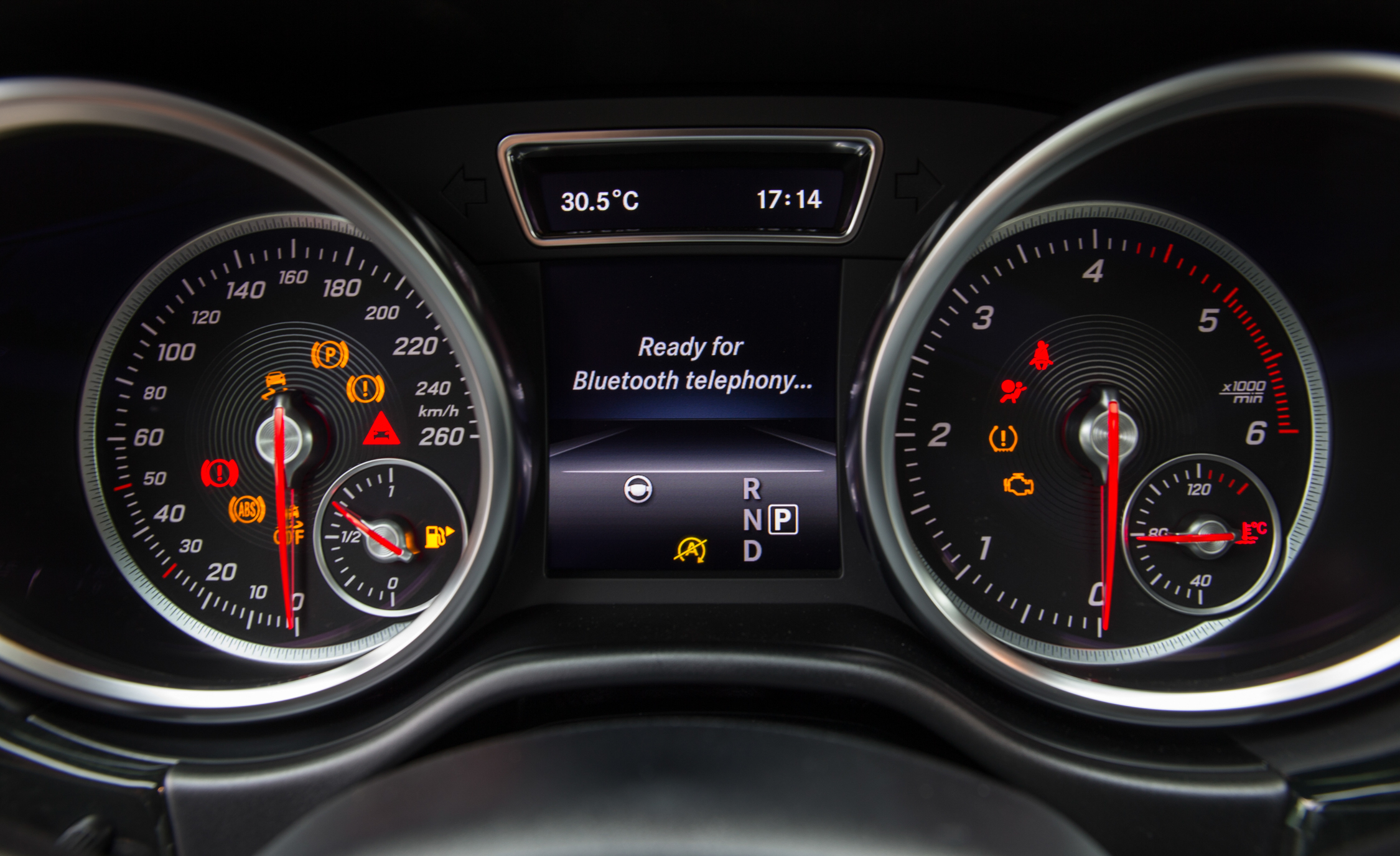 Speedometer Mercedes-Benz GLE250d 4MATIC 2016