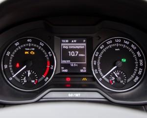Speedometer Skoda Octavia Scout 2016