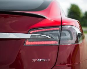Taillight Tesla Model S P85D 2015