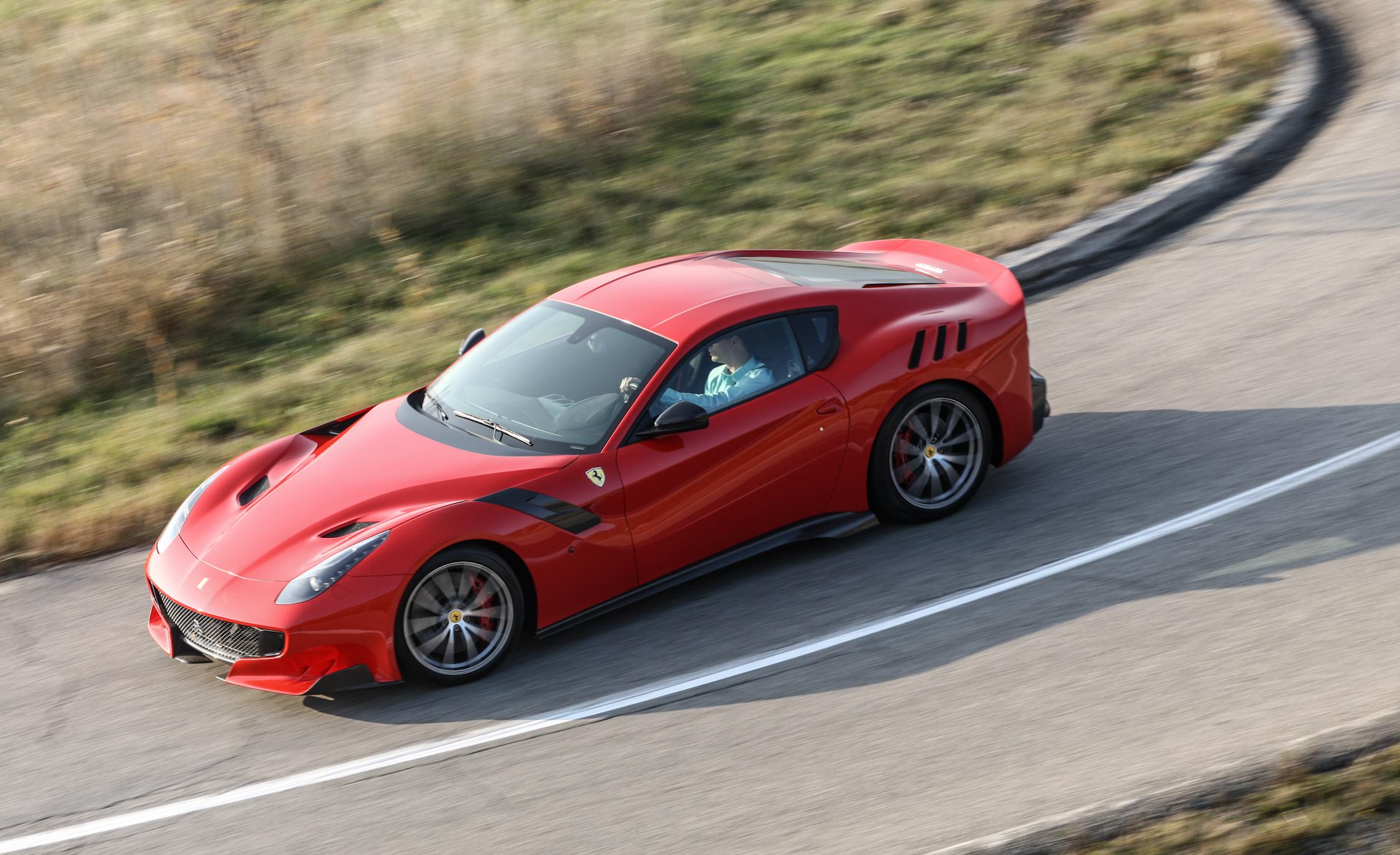Top View 2016 Ferrari F12tdf