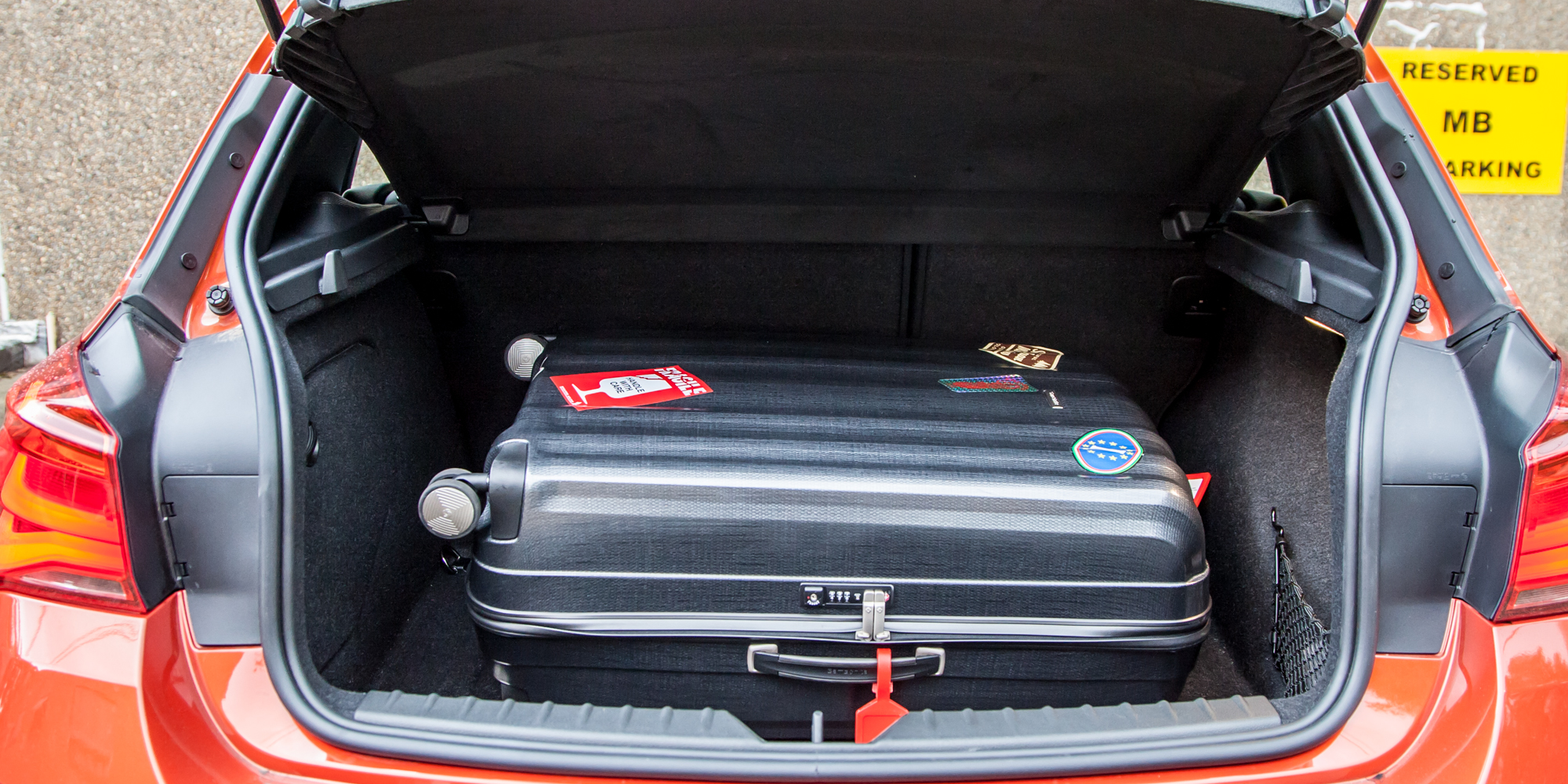 Trunk Space 2015 BMW 125i