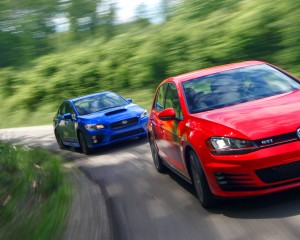 Volkswagen GTI 2015 vs Subaru WRX 2015 Comparison