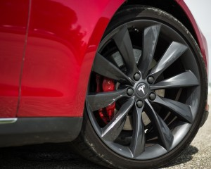 Wheel Trim 2015 Tesla Model S P85D