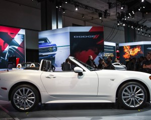 White 2017 Fiat 124 Spider Rear Exterior