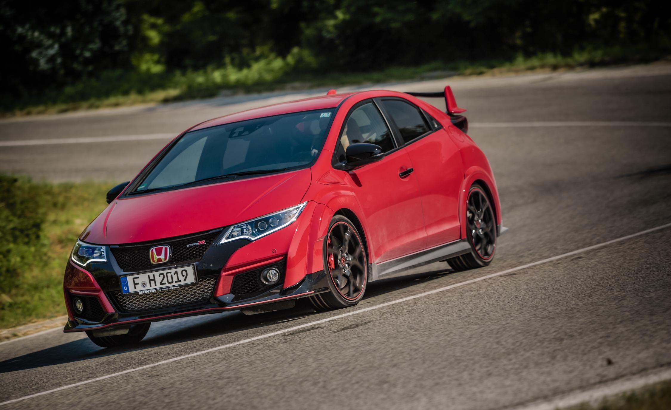 2015 Honda Civic Type R (Euro-spec) Red