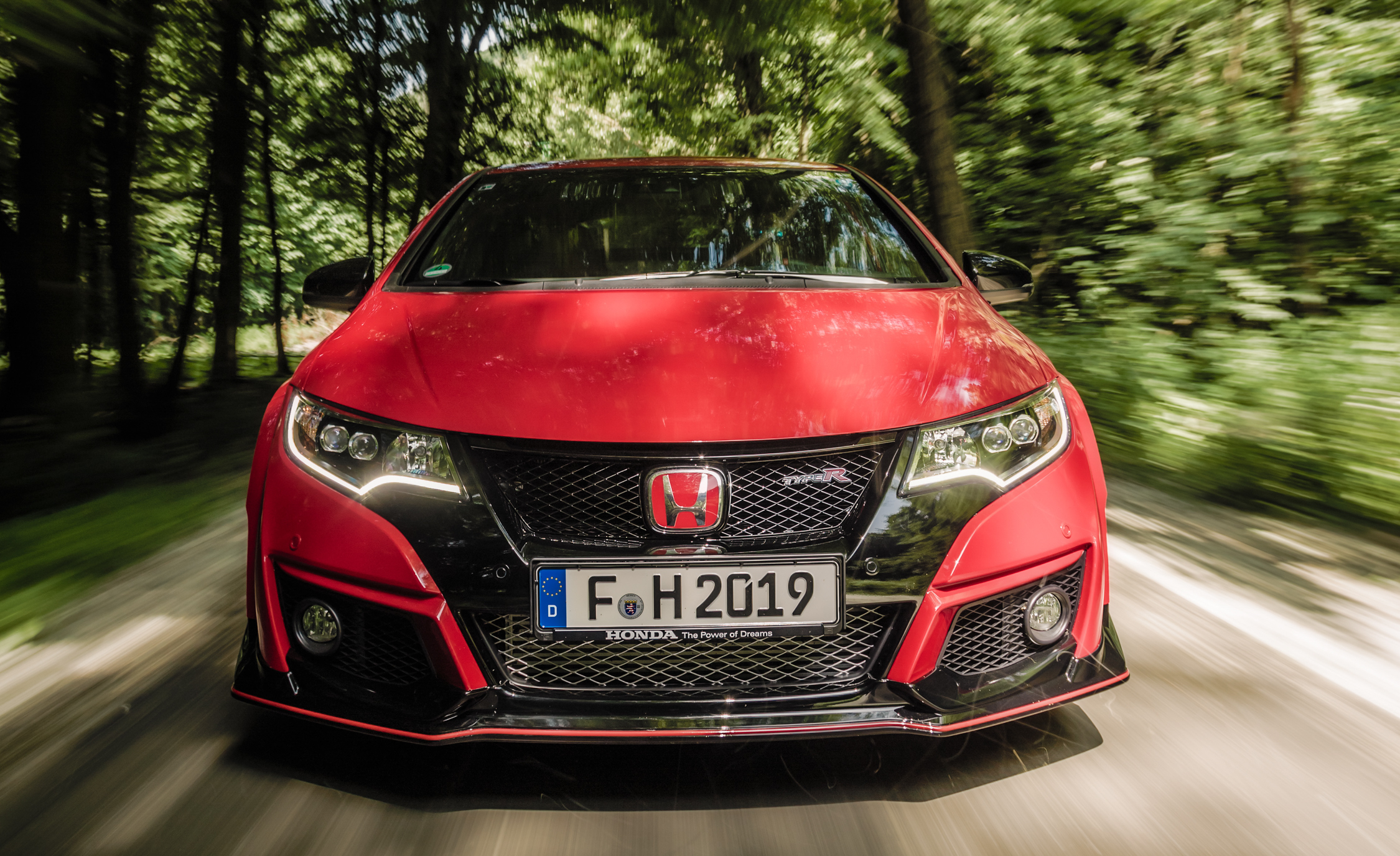 2015 Honda Civic Type R Exterior Grille and Bumper