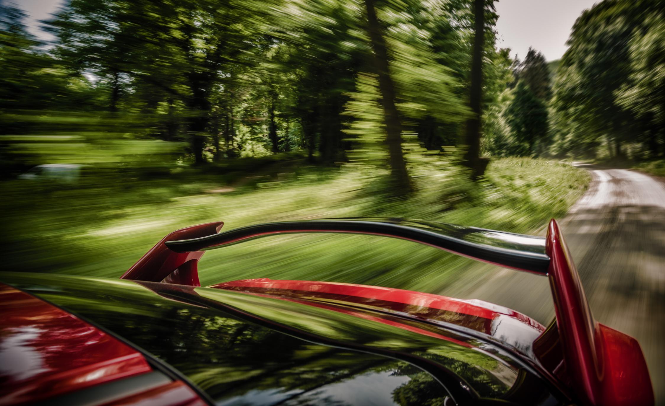 2015 Honda Civic Type R Exterior Rear Spoiler