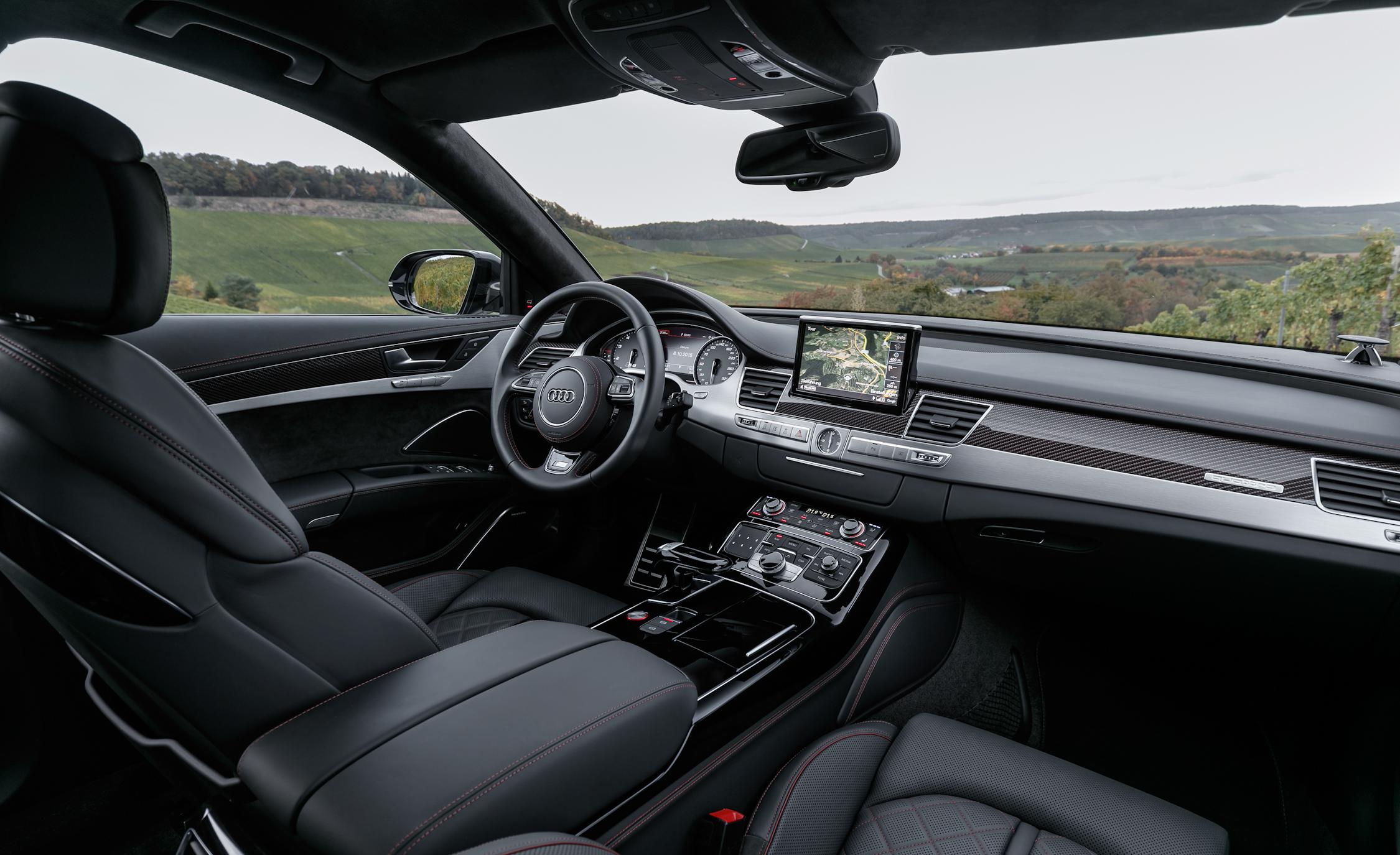 2016 Audi S8 Plus Interior