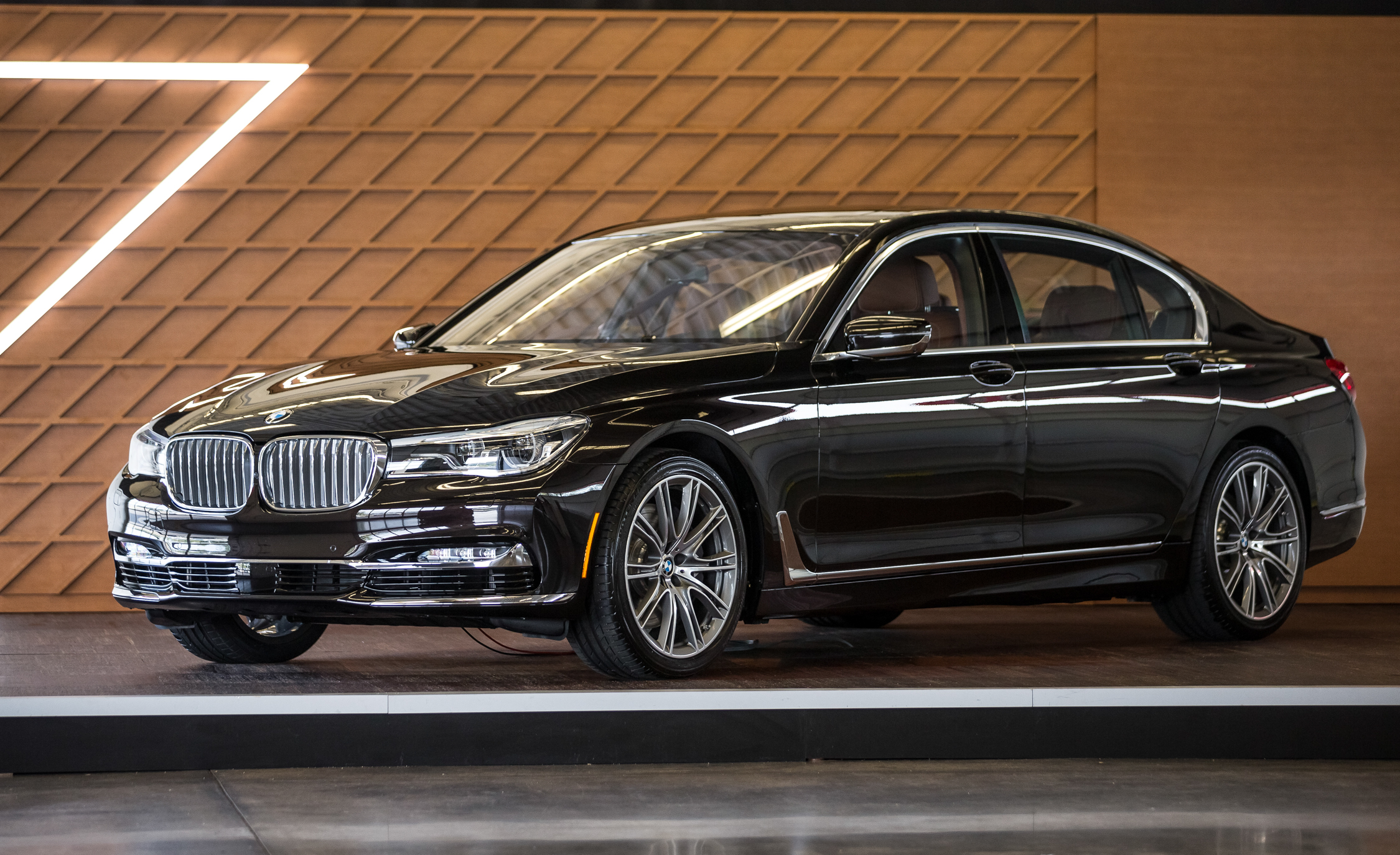 2016 BMW 7 Series Black
