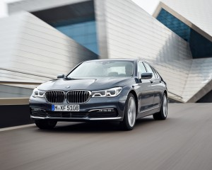 2016 BMW 7-Series Gray
