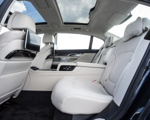2016 BMW 750i xDrive Interior Rear Passengers Seats