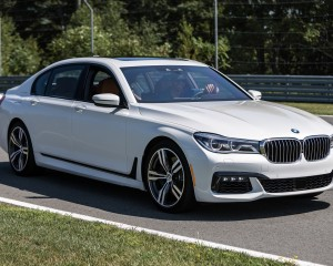 2016 BMW 750i xDrive White Exterior