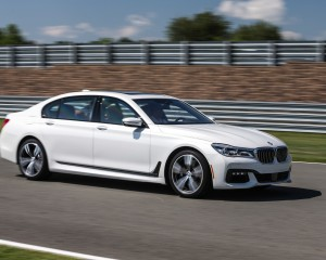 2016 BMW 750i xDrive White Test Drive
