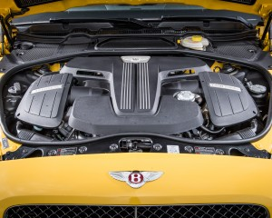 2016 Bentley Continental GT Twin-Turbocharged 4.0-Liter V-8 Engine