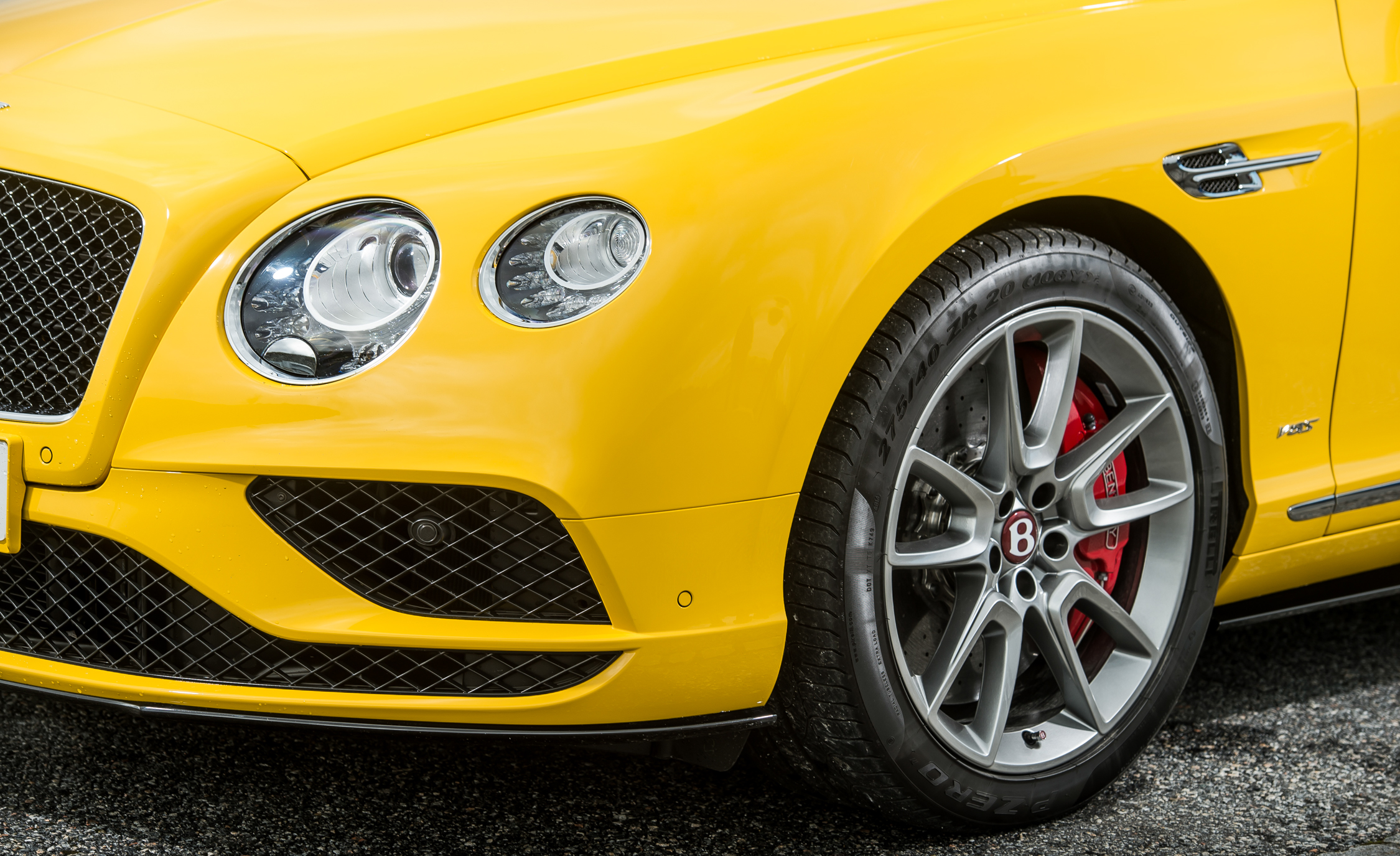2016 Bentley Continental GT S Exterior Headlight