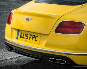 2016 Bentley Continental GT S Exterior Rear Body