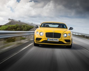 2016 Bentley Continental GT S Test Front View