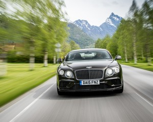 2016 Bentley Continental GT Speed Test Front View