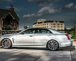 2016 Cadillac CTS-V Exterior Full Side