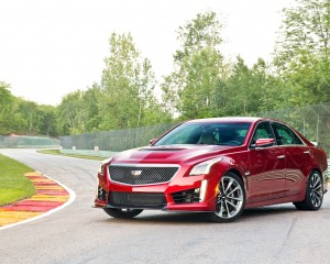 2016 Cadillac CTS-V Red Exterior